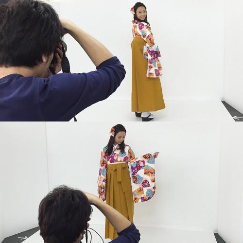 袴の撮影20151207