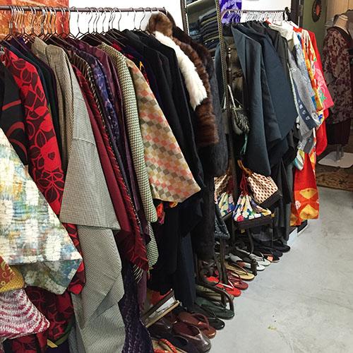 アンティーク着物 長襦袢 羽織り