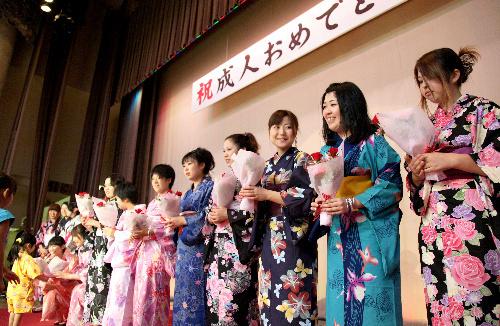 宮城県南三陸町の成人式