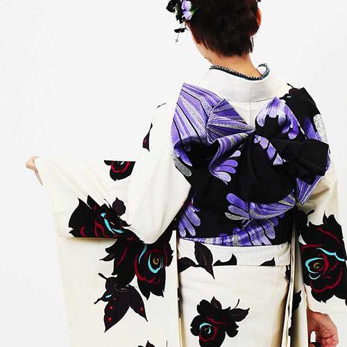 振袖 | 艶綺蝶 の帯結び
