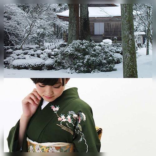 冬の着物柄