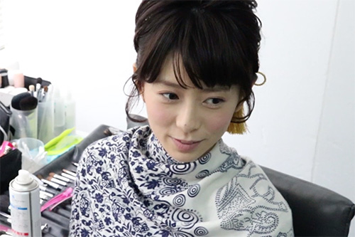 着物に似合うショートヘアの作り方10