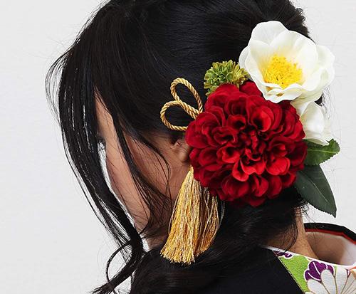 HanaMaryの髪飾りレンタル