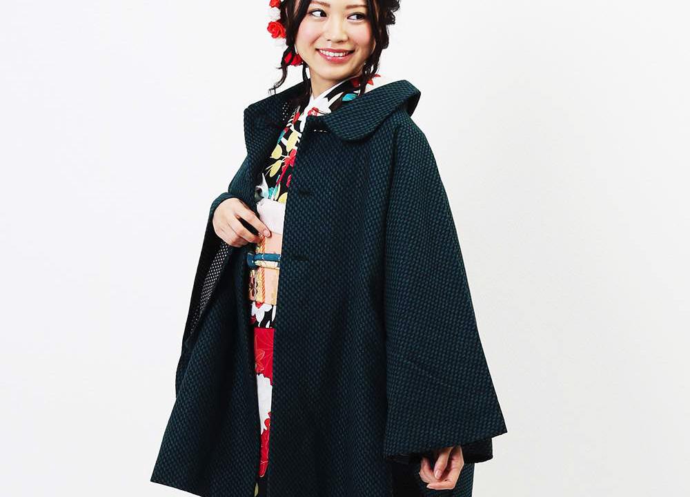 寒くなる立冬の季節から着物コートを