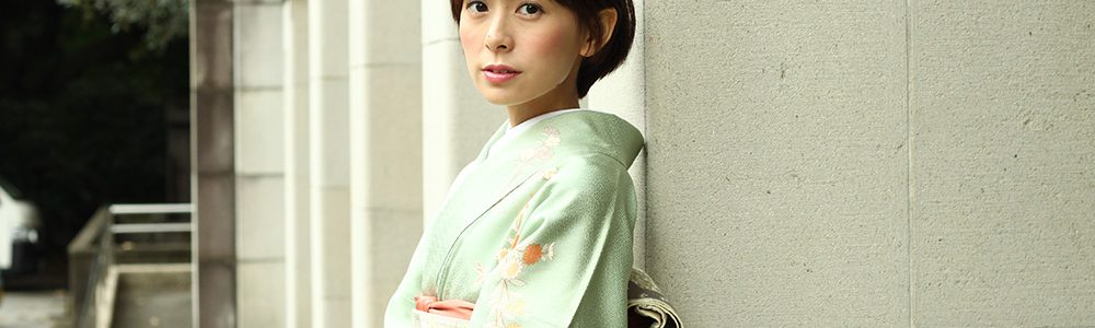 hataori 三越で着物レンタルを。