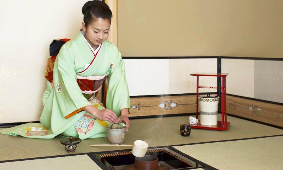 小堀優子 お茶会での着物のポイント