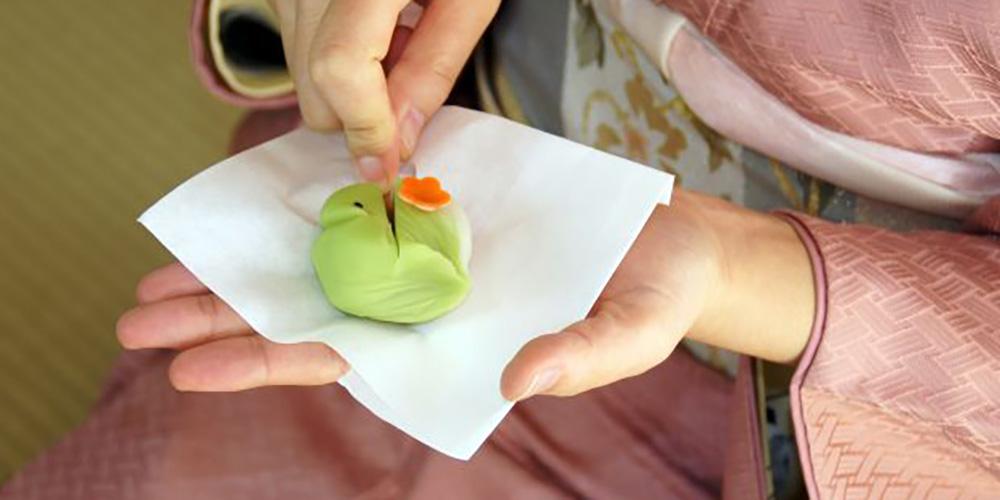和菓子の嗜み方