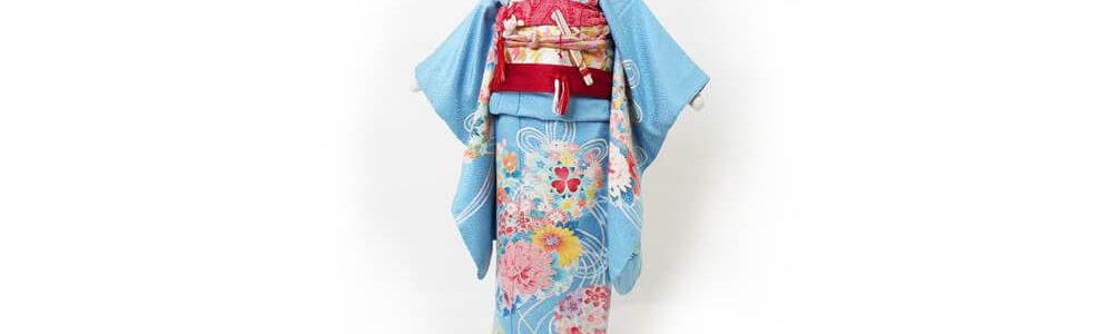 おすすめ七五三レンタル_七五三(七歳) | 正絹 手描き加賀友禅 花々に水引