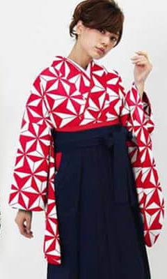 おすすめ卒業式袴 (新品) レンタル_卒業式袴 (新品) | アサノハ グリーンとレッド