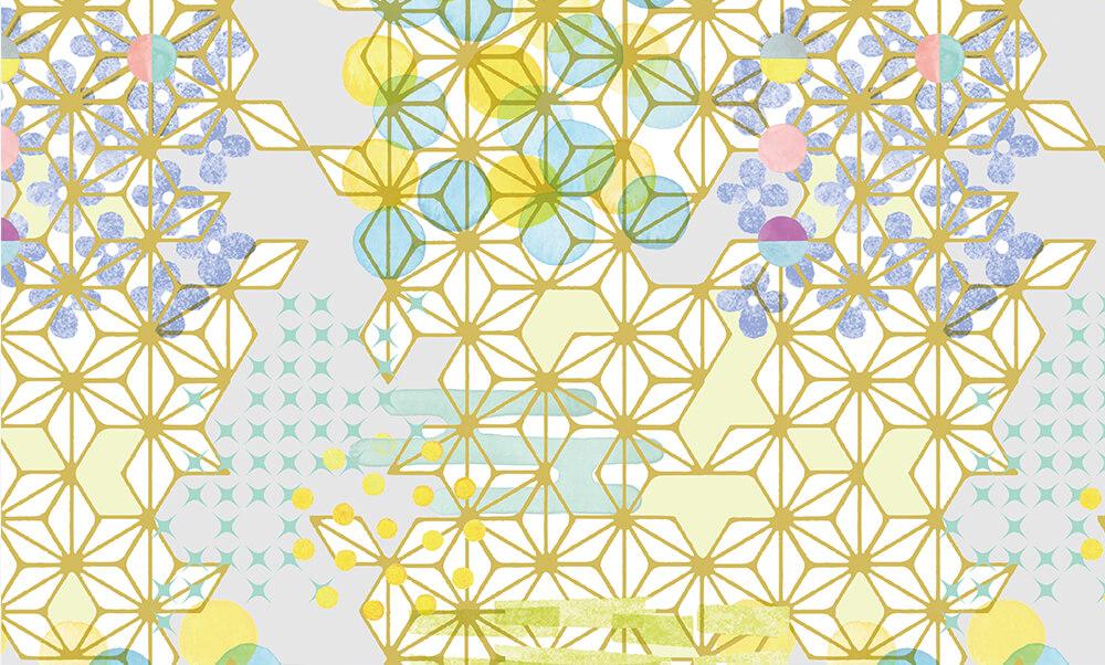 卒業式袴レンタル | 【HAO】愛でる和心 | グレー | ピンク | 黄色 hataoriオリジナルHAO