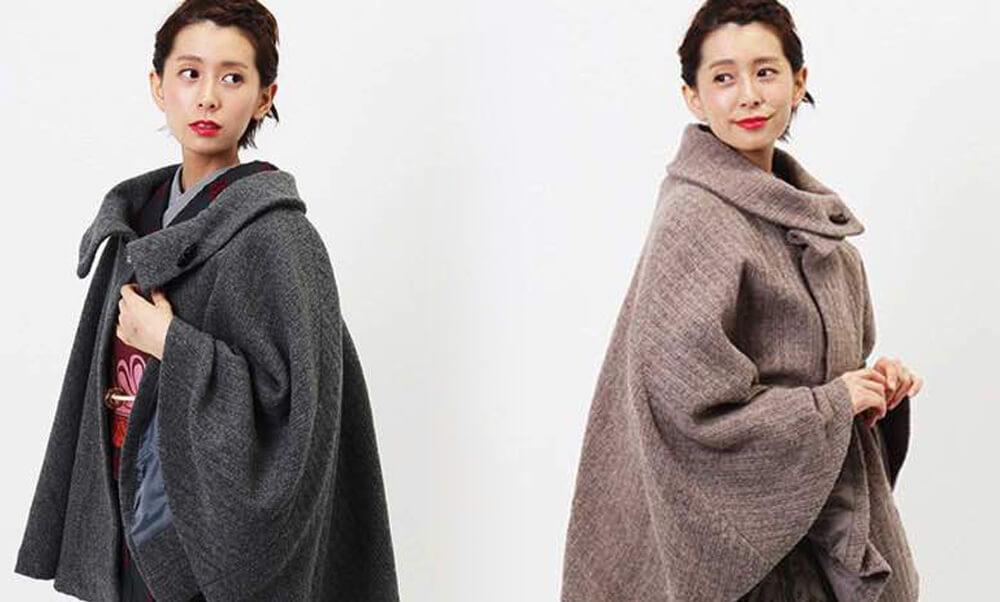 おすすめ小物レンタル | 髪飾り・ブーツ・コート_防寒対策にコート