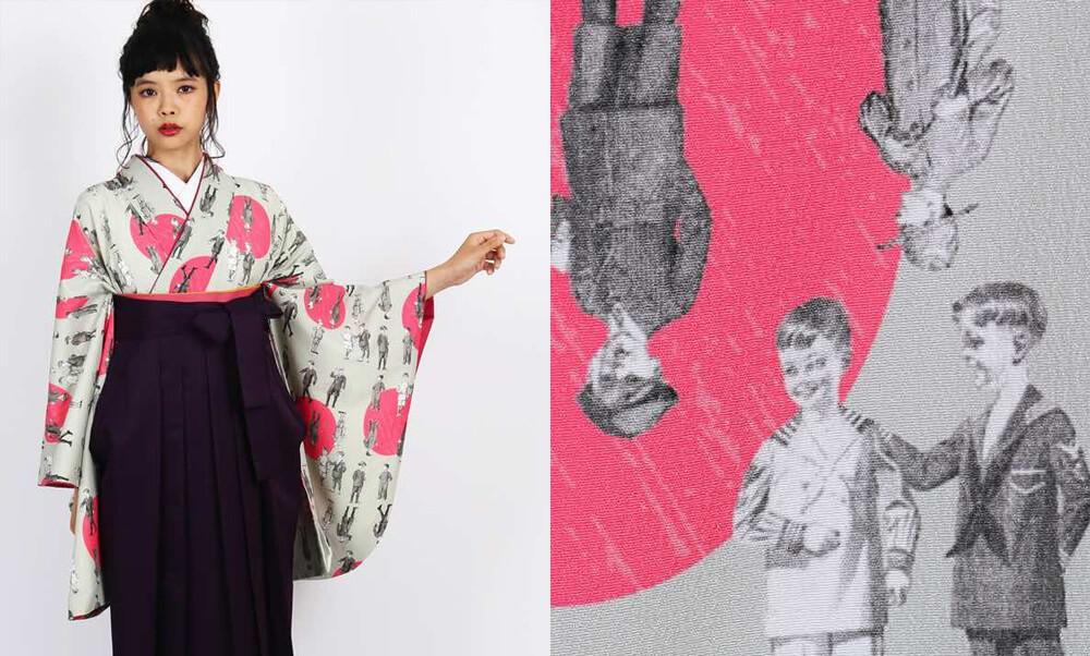 おすすめ卒業式袴 | 【HAO】子どもが並ぶ_お洒落なデザインと子供