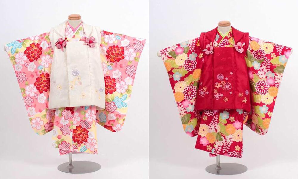 NEWS-093-001_七五三(三歳)レンタル 赤とピンク