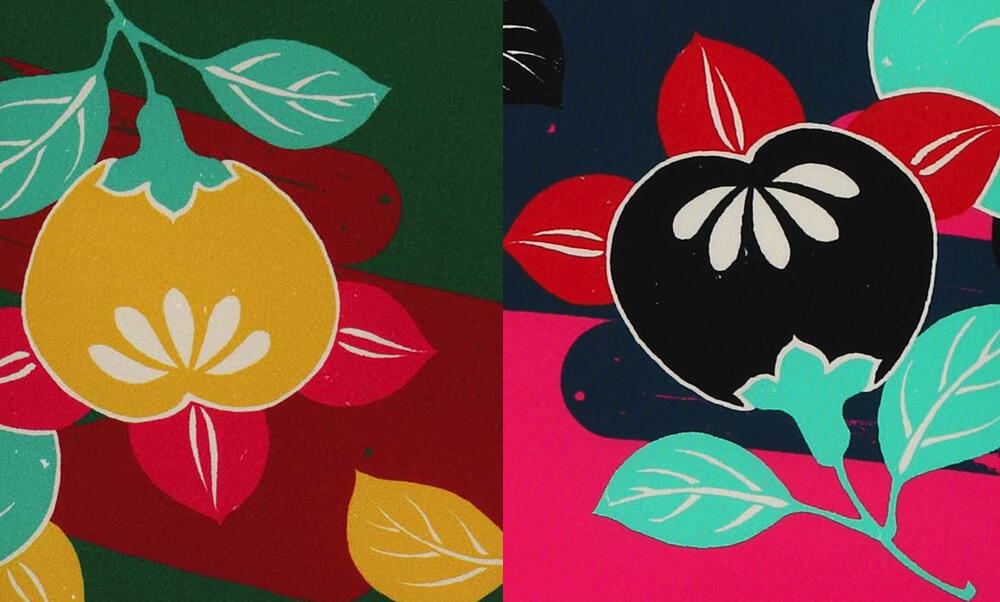 卒業式袴(小学生用)レンタル | 霞と橘 刺繍入り袴_吉祥模様の橘文