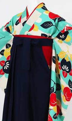 卒業式袴(小学生用)レンタル | 霞と橘 刺繍入り袴