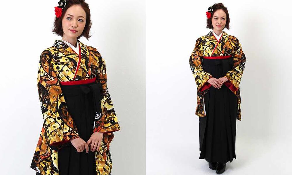 卒業式袴レンタル | エッジーなスタイル 卒業式袴 | mechanical