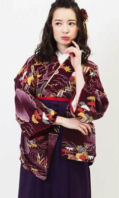 おすすめ卒業式袴(アンティーク) レンタル | 紫紺デモクラシー