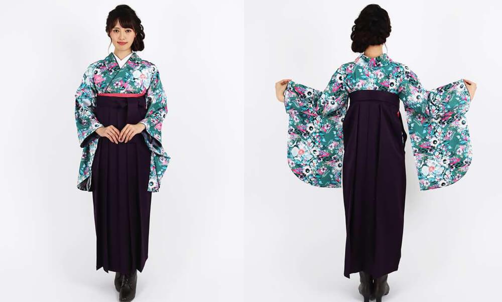 おすすめ卒業式袴レンタル | 【HAO】花とパール hataoriオリジナルデザインだから他にはない特別な卒業式袴です